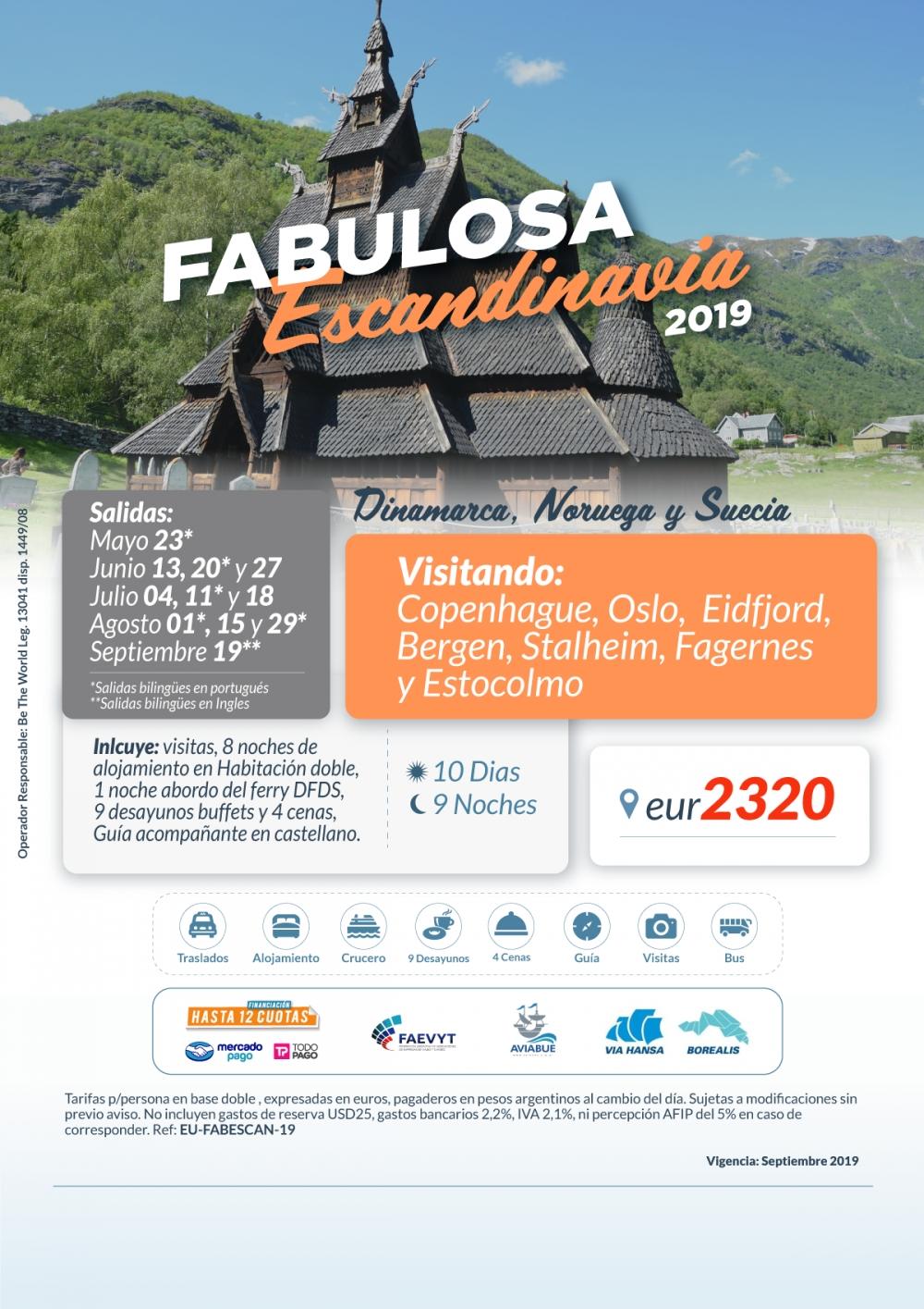 FABULOSA ESCANDINAVIA - Salidas Mayo a Septiembre
