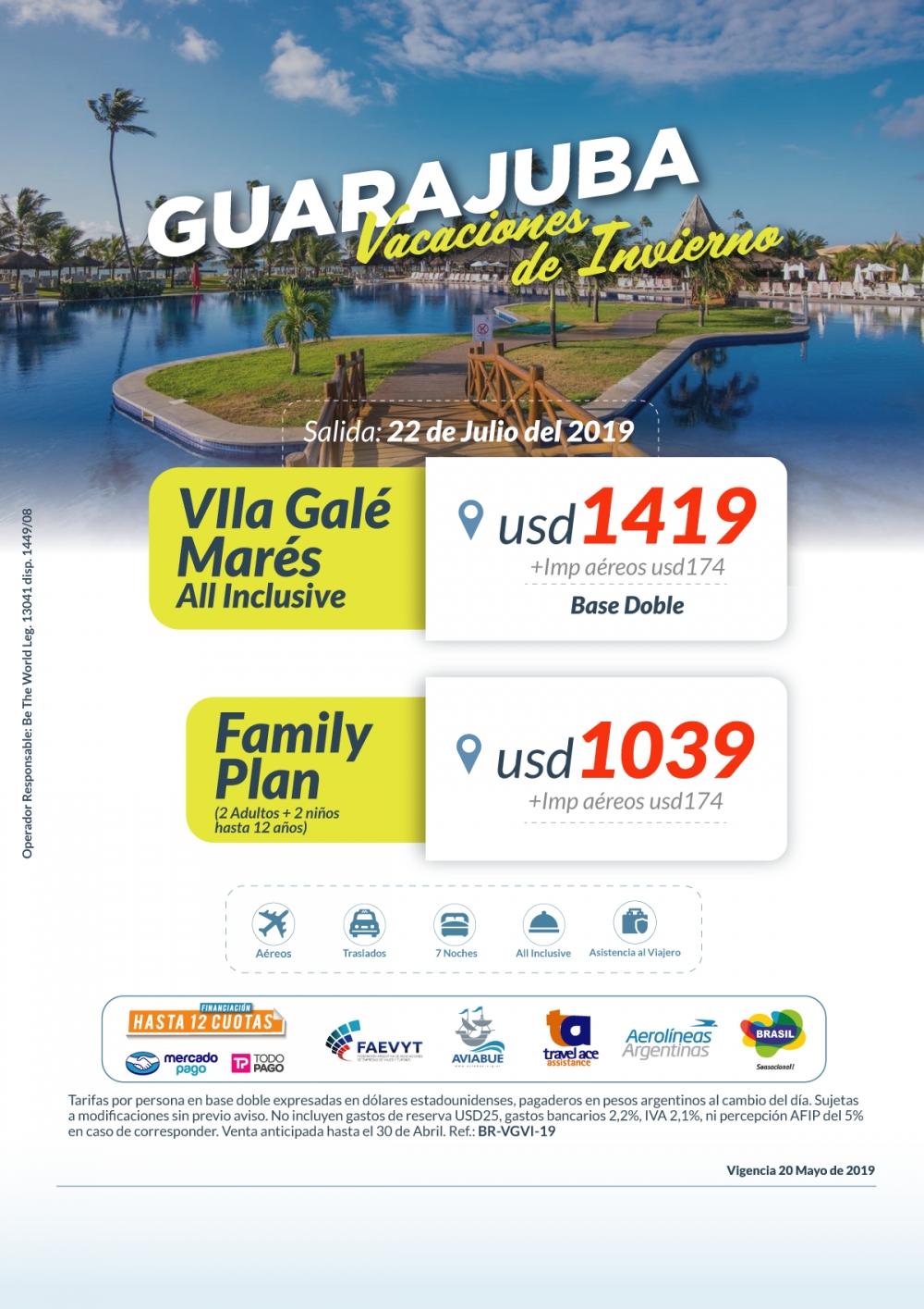 GUARAJUBA - Vacaciones de invierno
