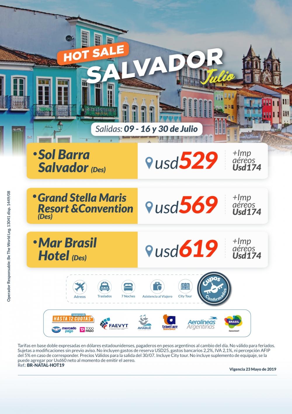 HOT SALVADOR - Julio