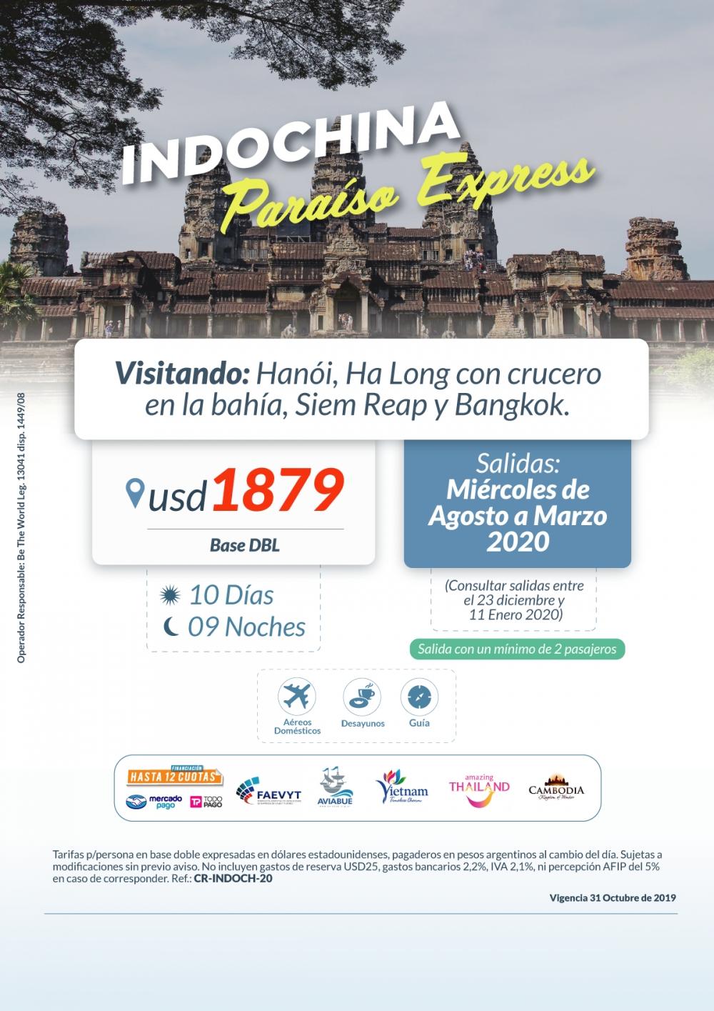 INDOCHINA PARAÍSO EXPRESS